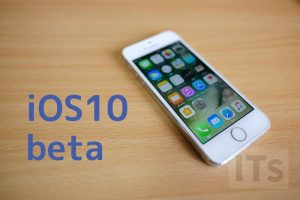 iOS10 beta
