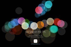 iPhone7 スペシャルイベント