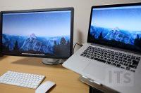 MacBook Pro と Dell 4Kディスプレイ