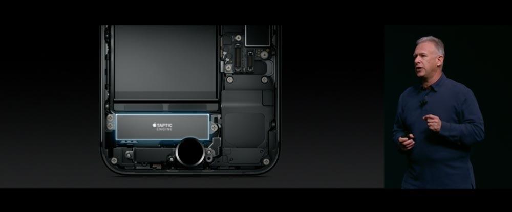iPhone7ホームボタン