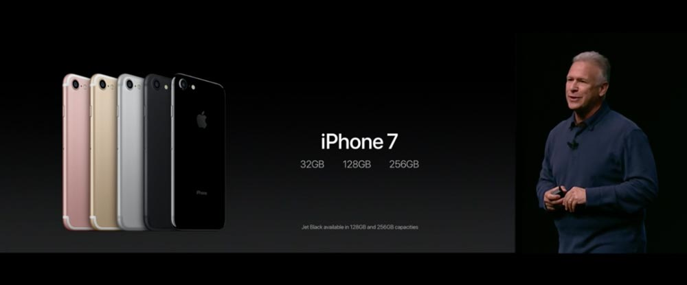 iPhone7 ストレージ容量