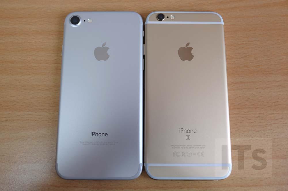 iPhone7とiPhone6s