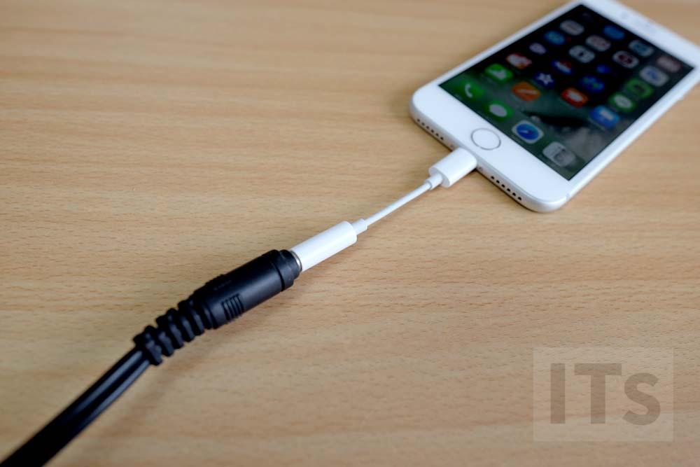 iPhone7 ヘッドフォン