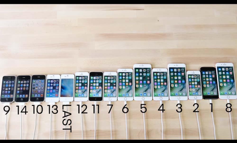 iPhone 電源起動速度