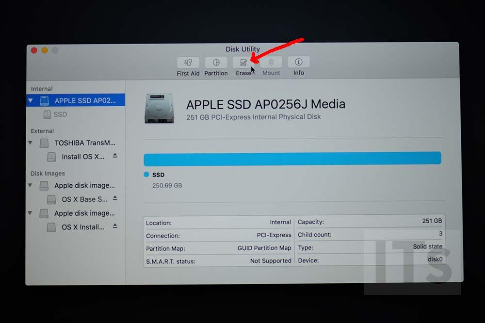 SSDの削除