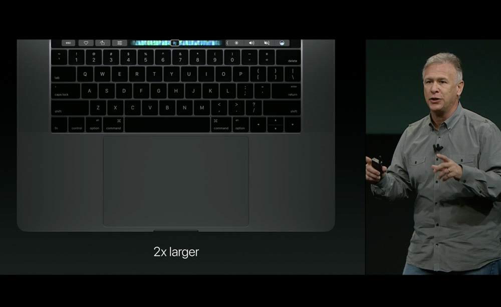 MacBook Pro トラックパッド