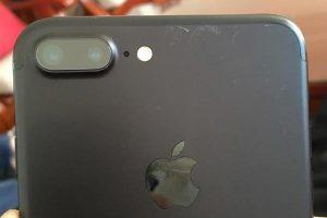iPhone7 Plus ブラック 傷