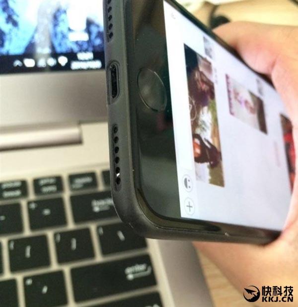 iPhone7 ブラック 傷