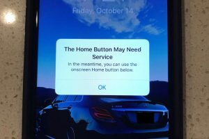 iPhone7 ソフトウェアホームボタン