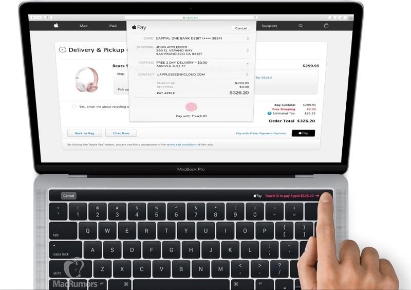 新型MacBook Proの外観