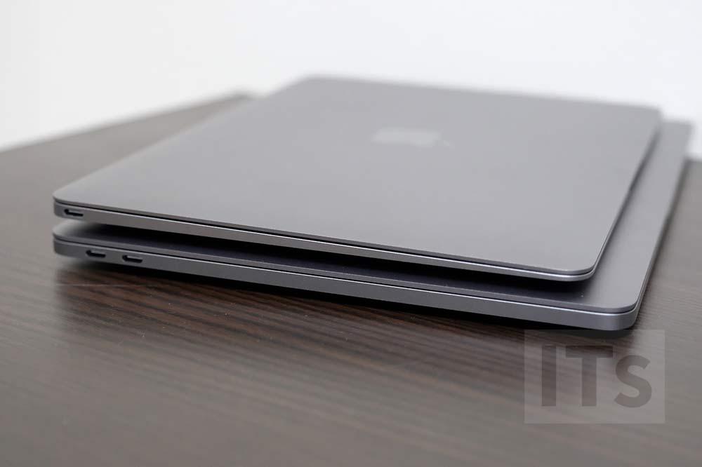 13インチMacBook Proと12インチMacBook サイズの比較3