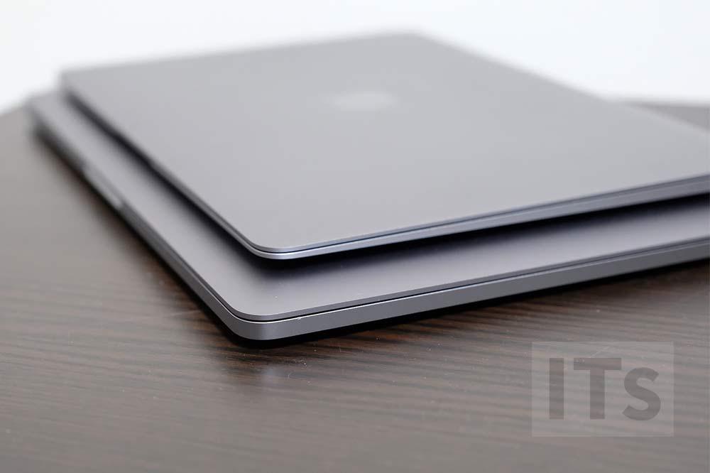 13インチMacBook Proと12インチMacBook サイズの比較5