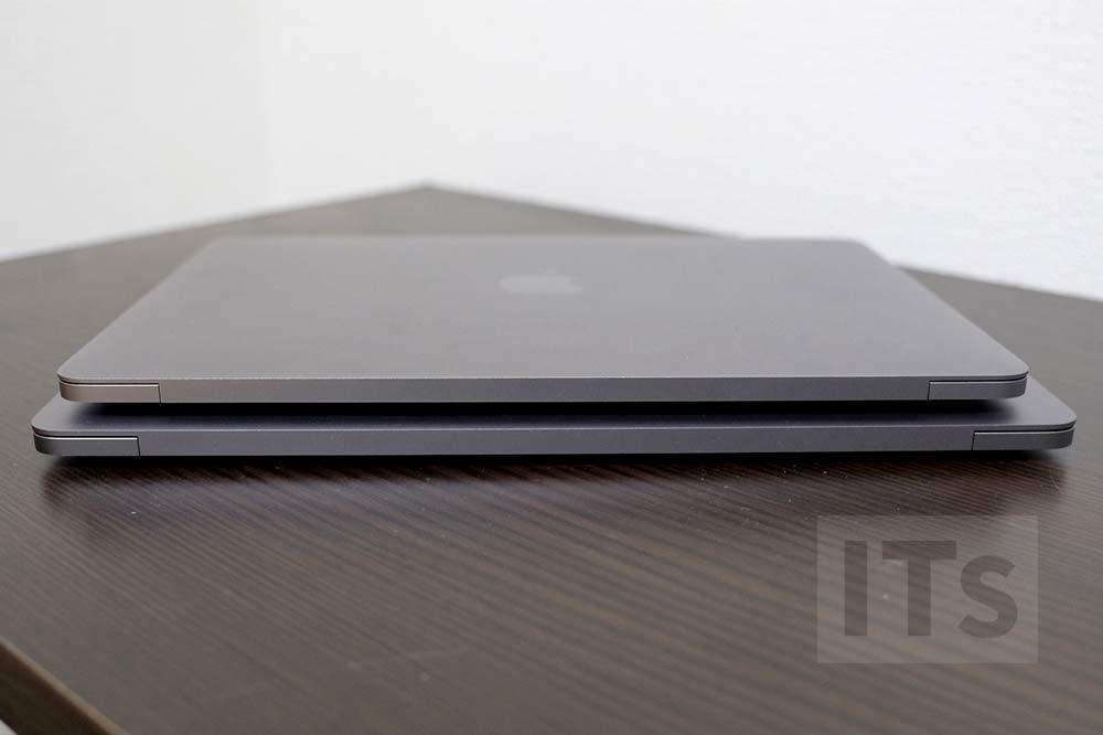 13インチMacBook Proと12インチMacBook サイズの比較6