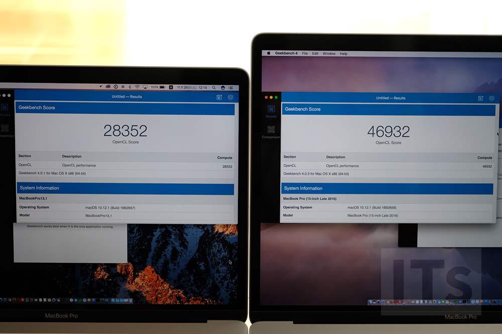 MacBook Pro 13 vs MacBook Pro 15 外部GPU