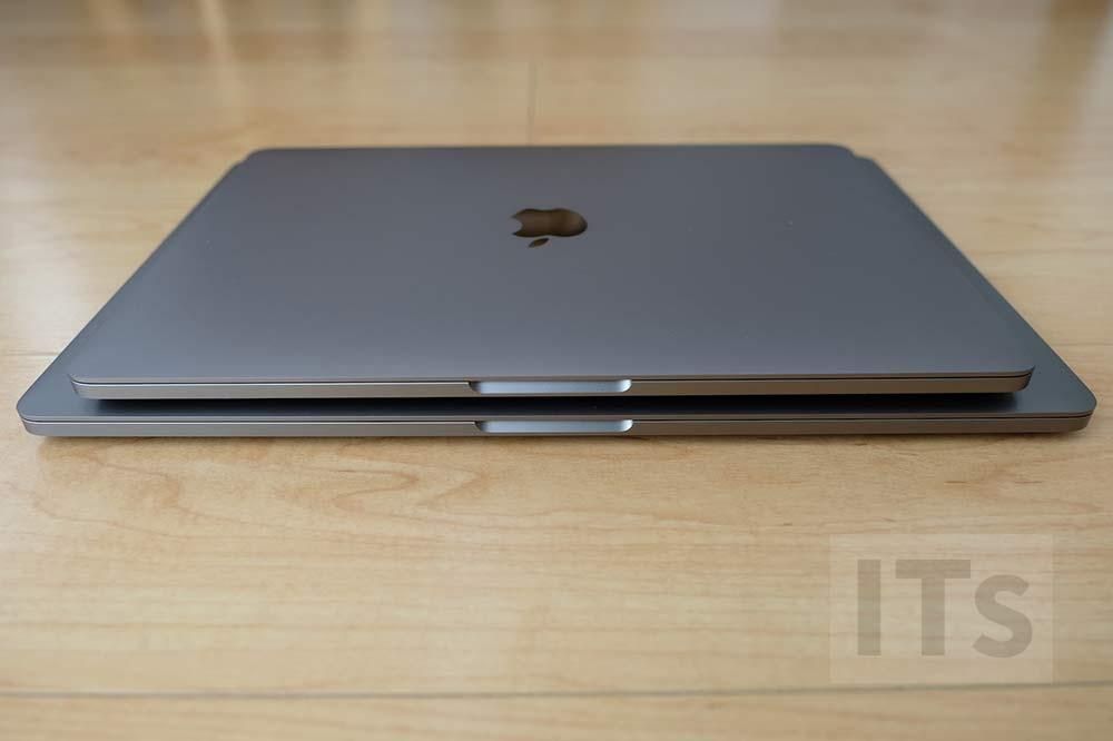 MacBook Pro 13 vs MacBook Pro 15 本体サイズ
