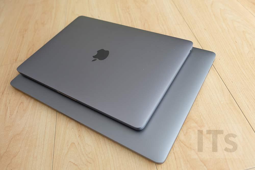 MacBook Pro 13 vs MacBook Pro 15 本体