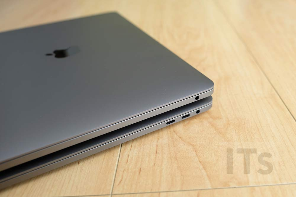MacBook Pro 13 vs MacBook Pro 15 本体右側ポート