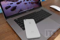 MacBook Pro と iPhone7