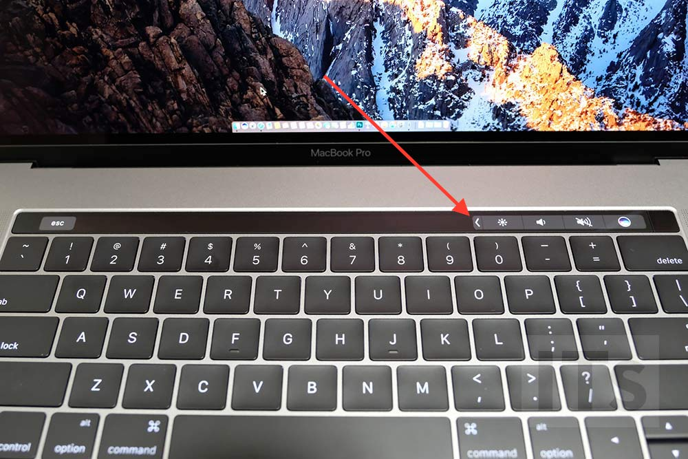 タッチバー MacBook Pro 使い方