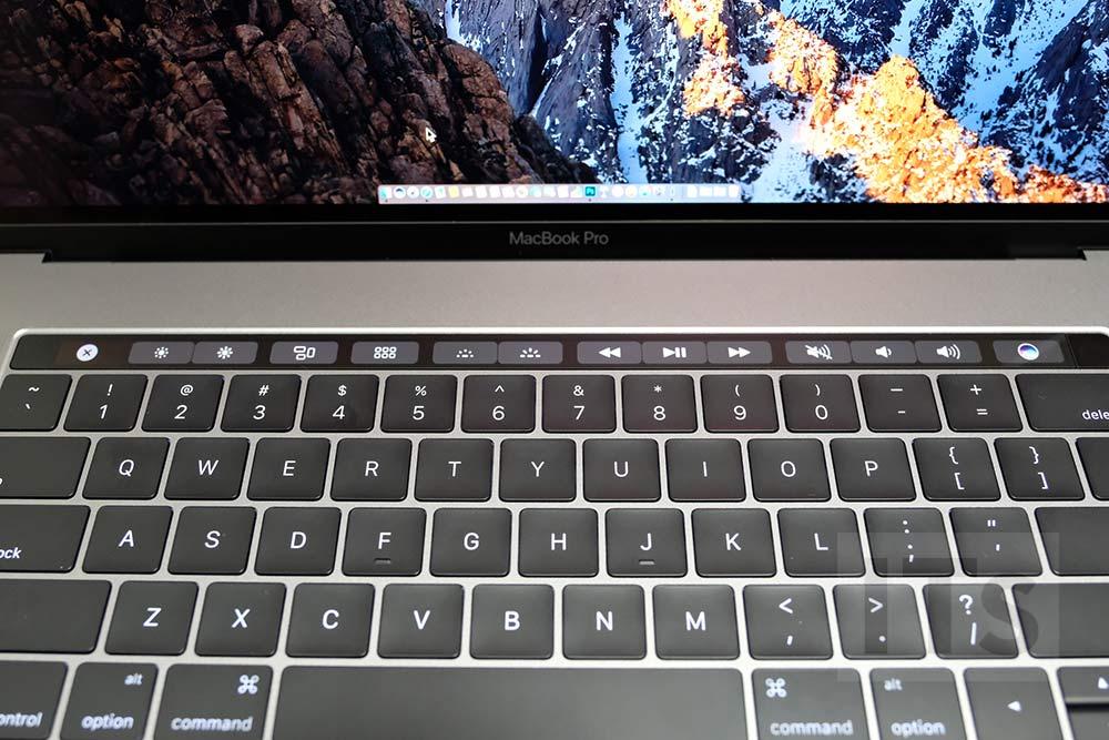 タッチバー MacBook Pro 使い方2