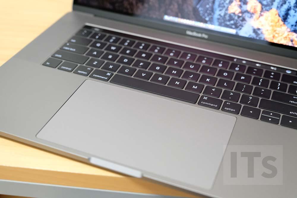 巨大トラックパッド MacBook Pro Late 2016