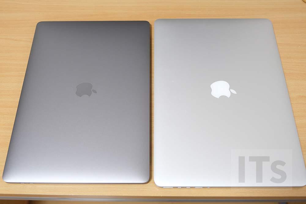 MacBook Pro 2016と2013の比較