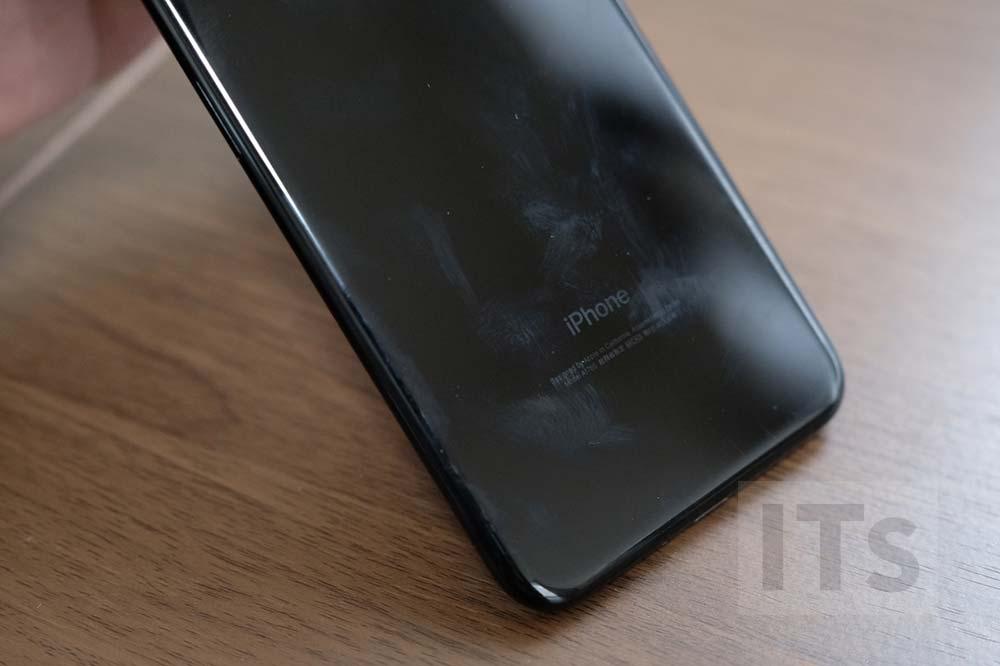 iPhone7 Plus ジェットブラック 指紋