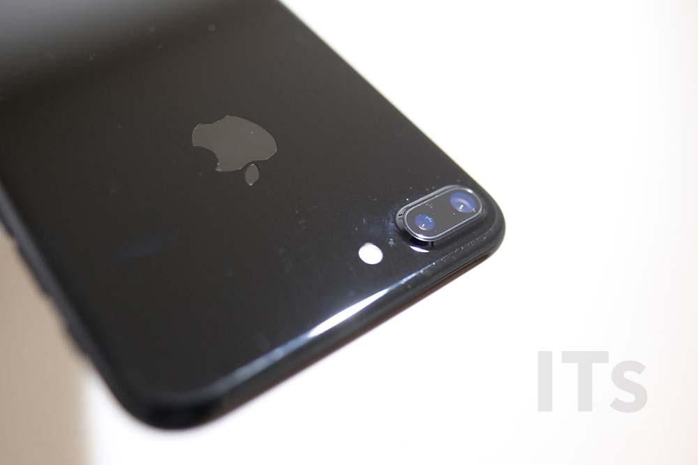 iPhone7 Plus ジェットブラック 傷4