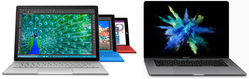 surface vs MacBook Pro