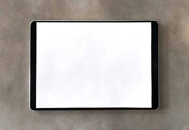iPad Pro ベゼルレスディスプレイ
