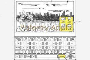 Smart Keyboard 2 特許 シェアボタン