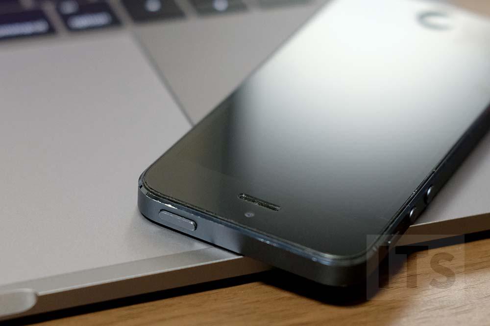 iPhone5 ブラック&スレート