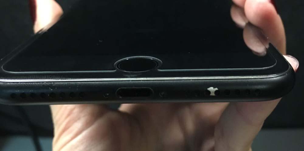 iPhone7 ブラックの剥げ