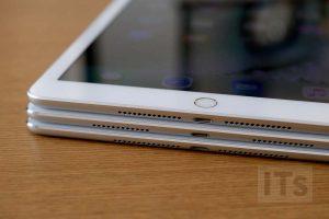 iPad(第5世代)・iPad Pro・iPad Air 2 本体比較 下部