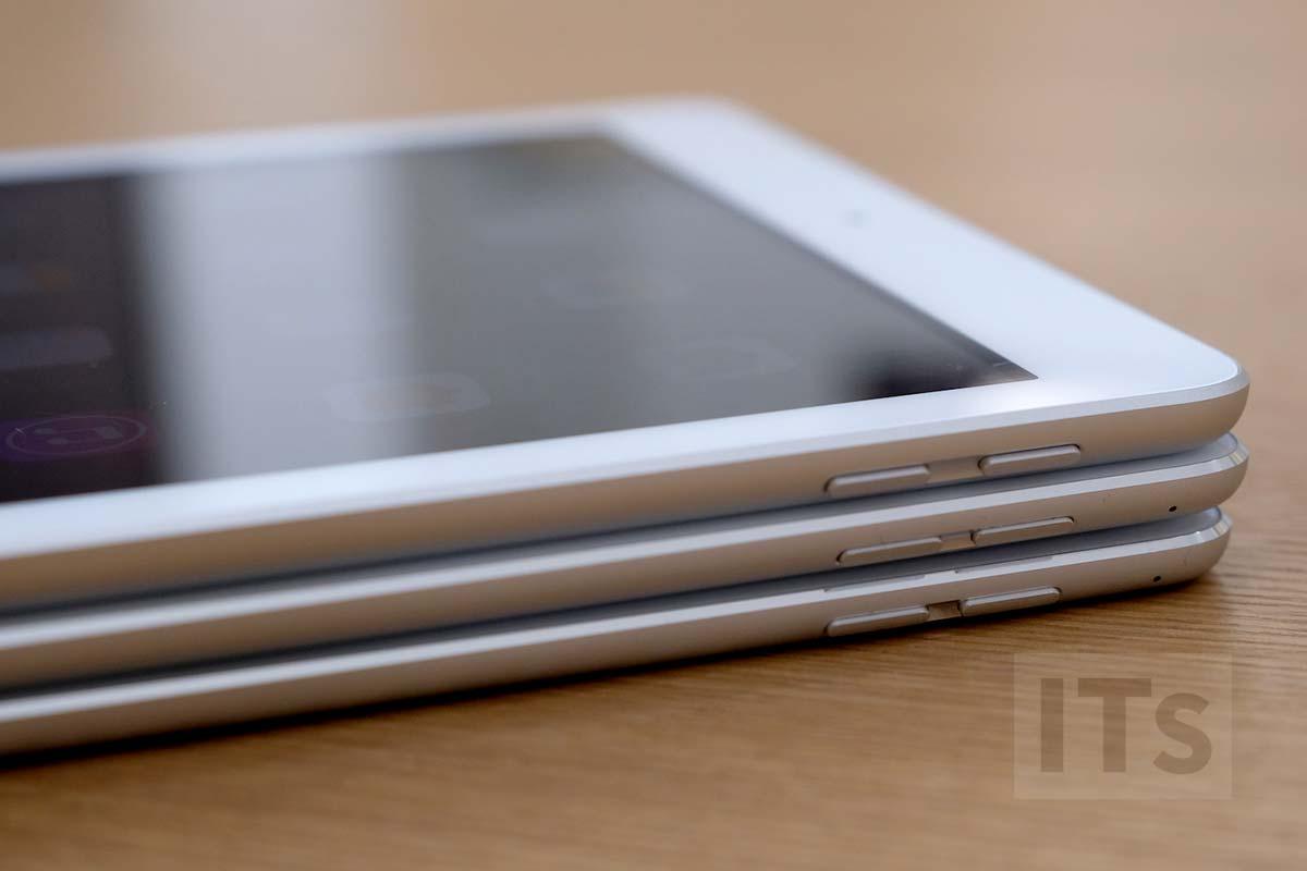 iPad 第5世代、iPad Pro、iPad AIr 2 音量ボタン