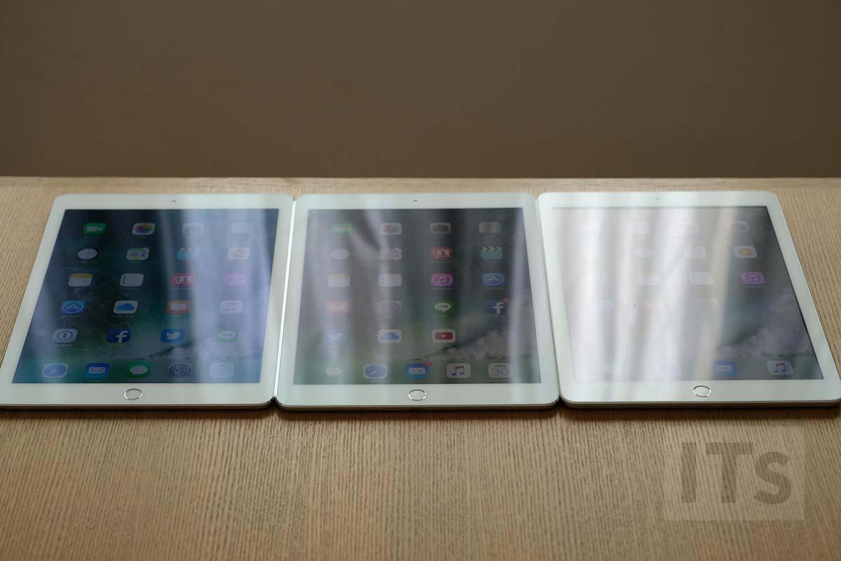 iPadの反射比較