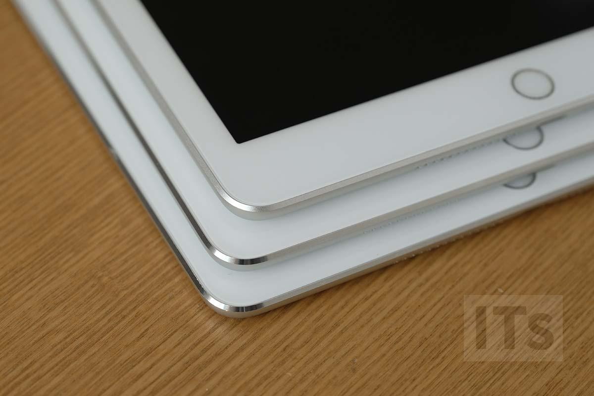 iPad 第5世代のエッジ加工