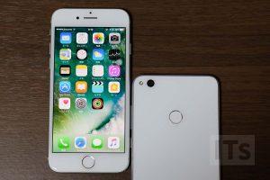 iPhone7とnova Lite