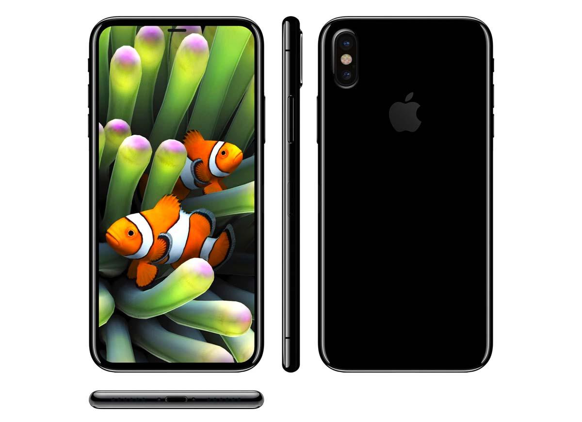 5.8インチのiPhone X
