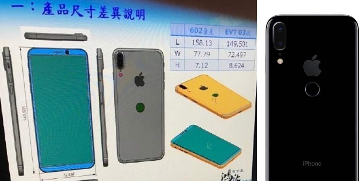 iPhone8 設計図