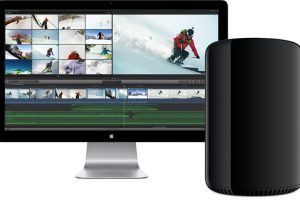 Mac ProとApple Thunderbolt display