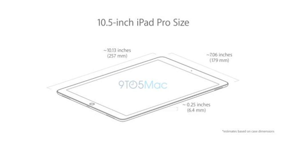 10.5インチiPad Pro サイズ