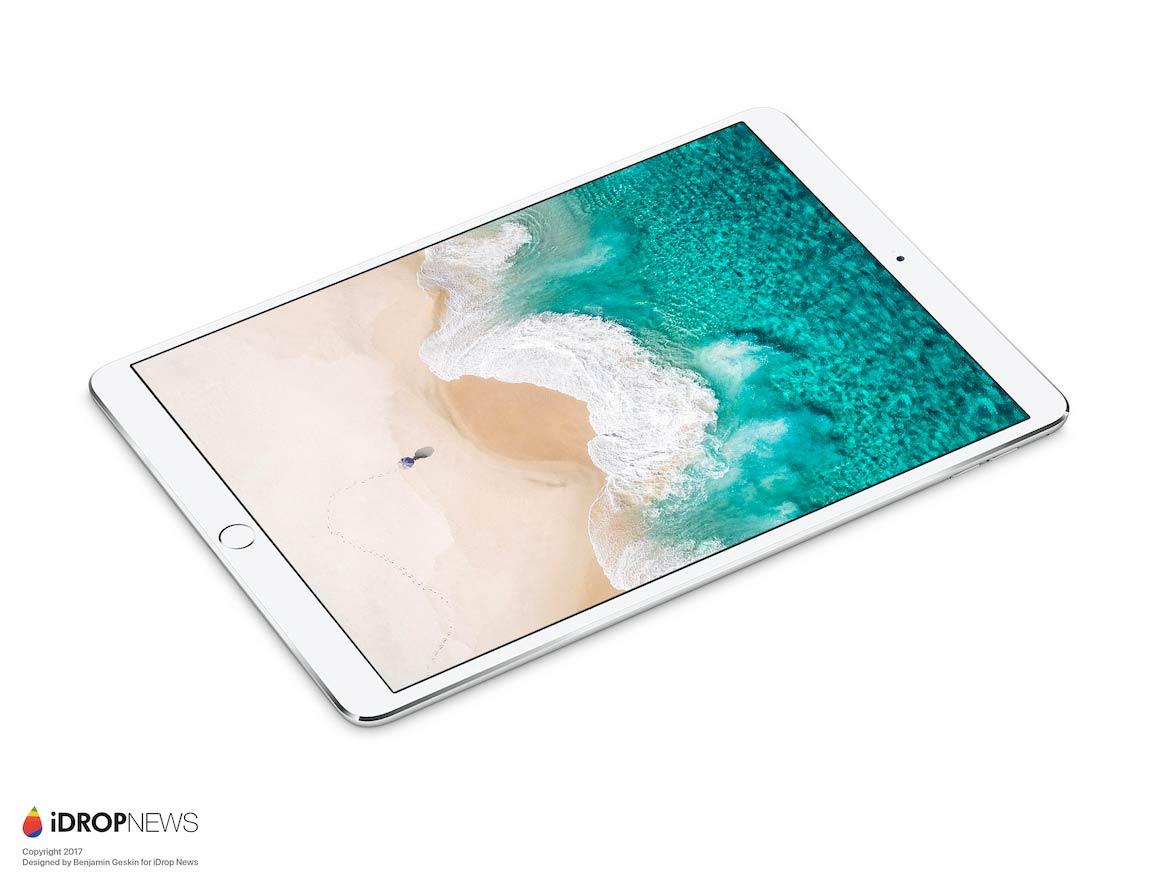 iPad Pro 10.5 レンダリング画像1