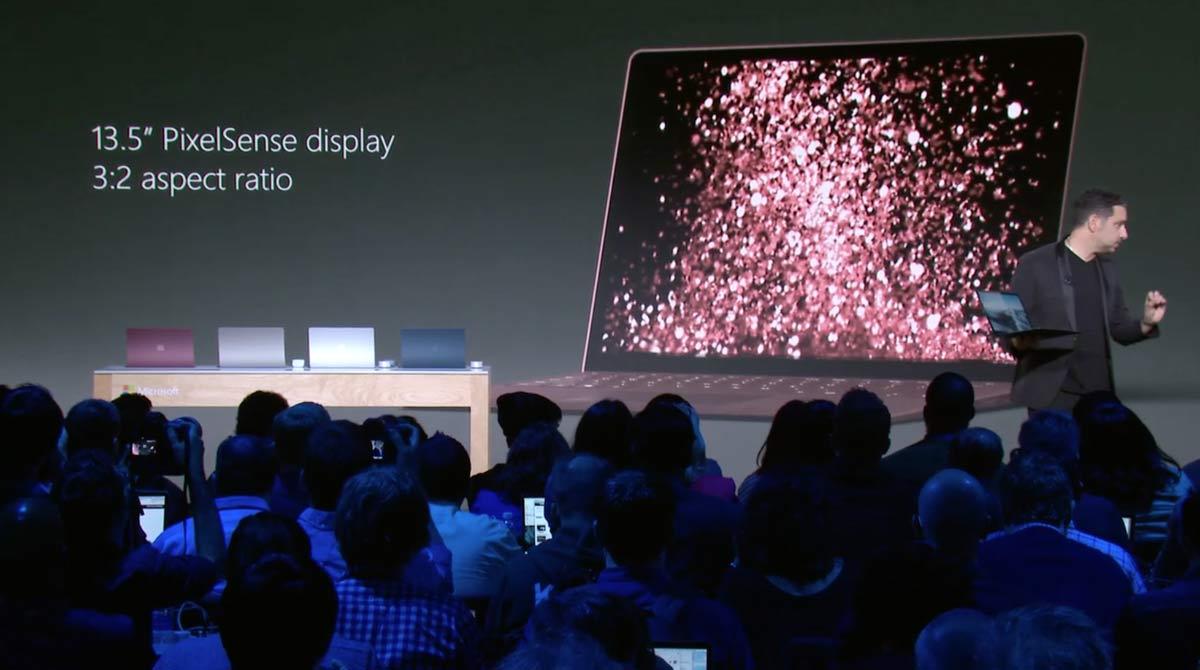 Surface Laptop ディスプレイ