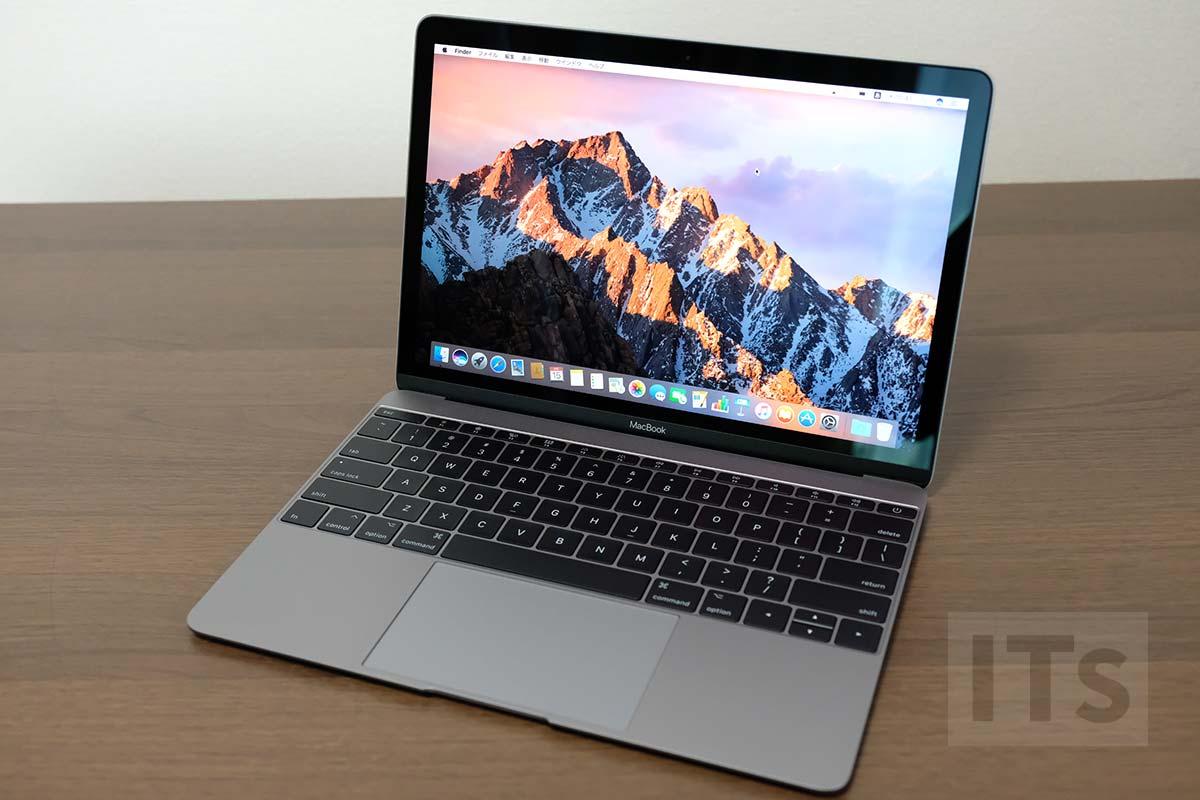 MacBook 2017 macOS起動
