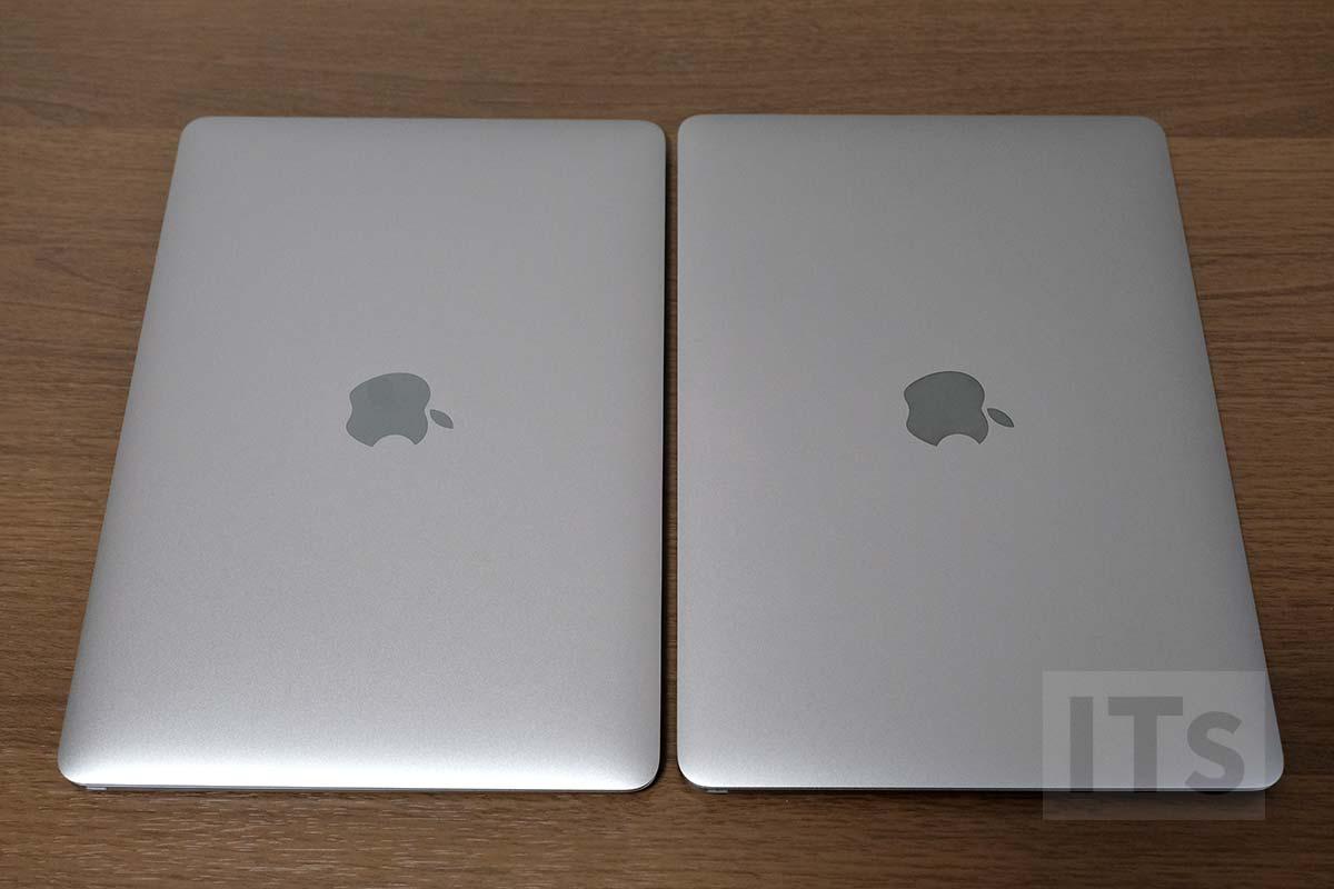 MacBook 新旧比較
