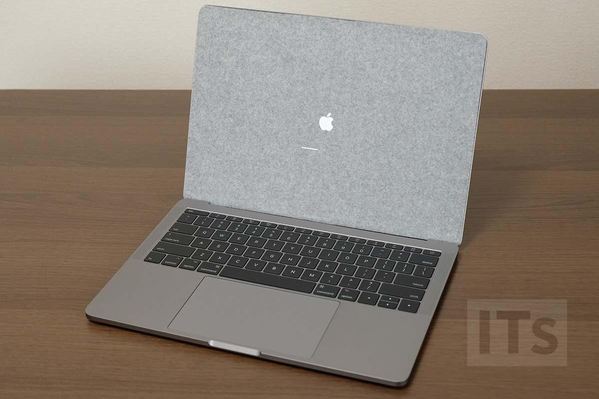 13インチMacBook Pro 2017 起動