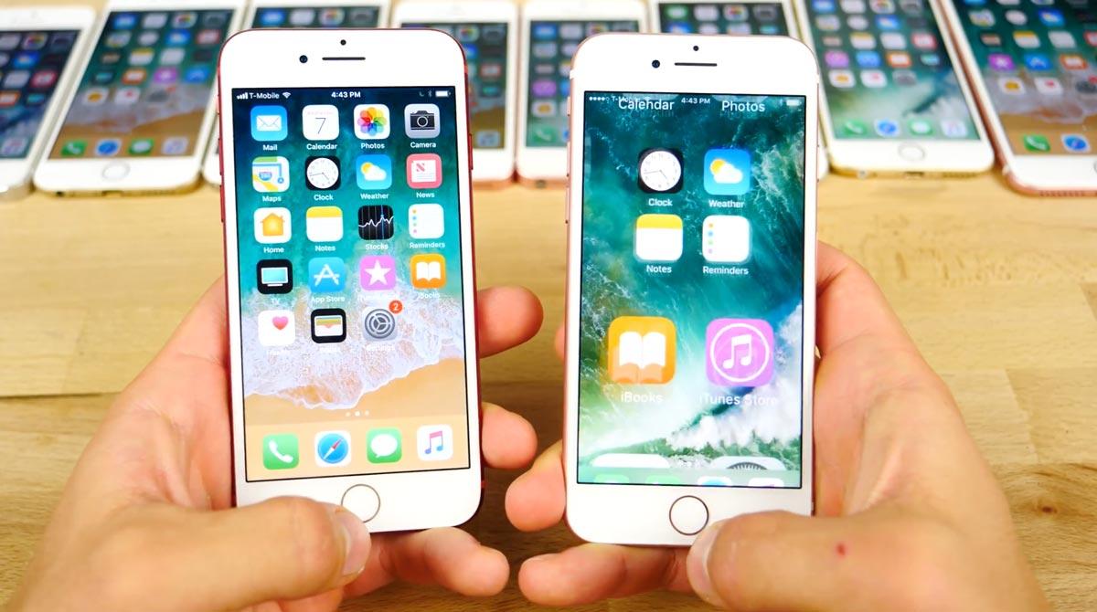 iOS11 beta vs iOS10 アニメーション