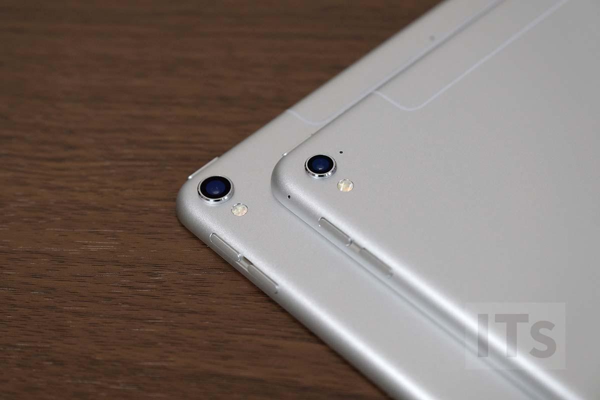 iPad Pro 10.5とiPad Pro 9.7 カメラ比較