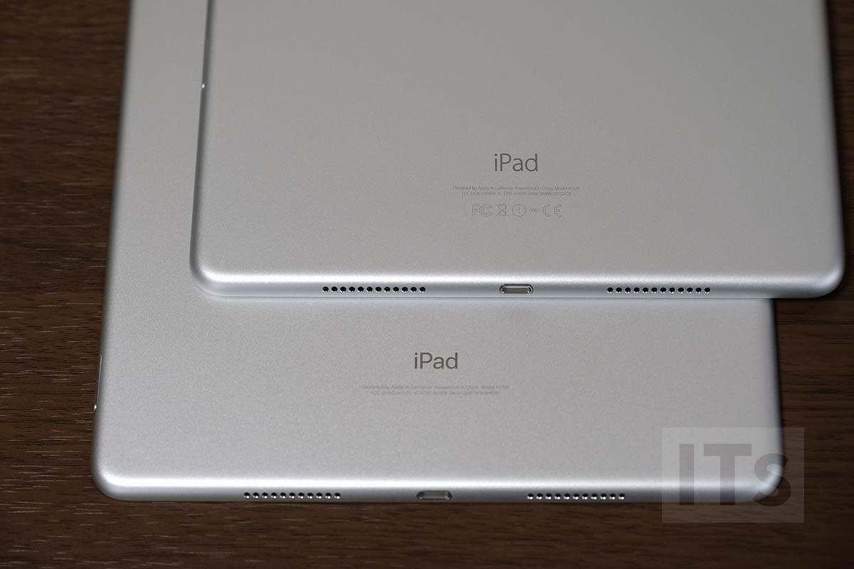iPad Pro 10.5 iPad Pro 9.7 背面比較